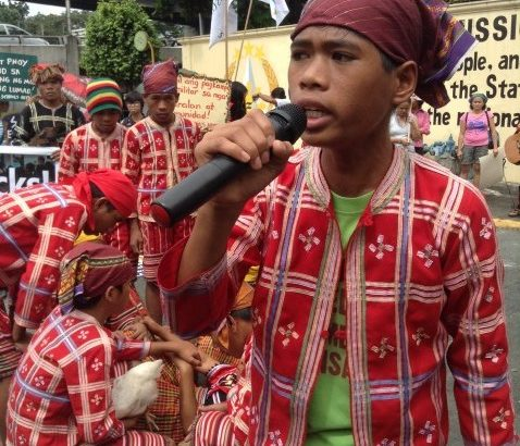 'Let children be' | Manobo kids call to end militarization of tribal school