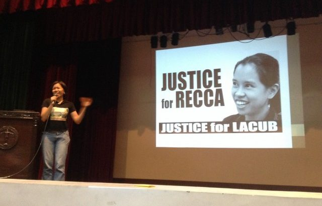 Recca, the coffee lover and the 'artistahin'