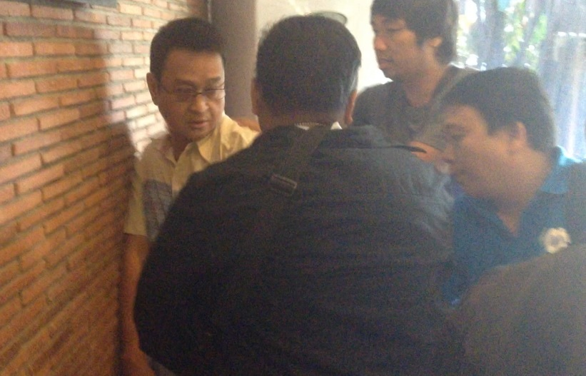 NBI agents arrest QC prosecutor for alleged extortion case (Contributed photo)
