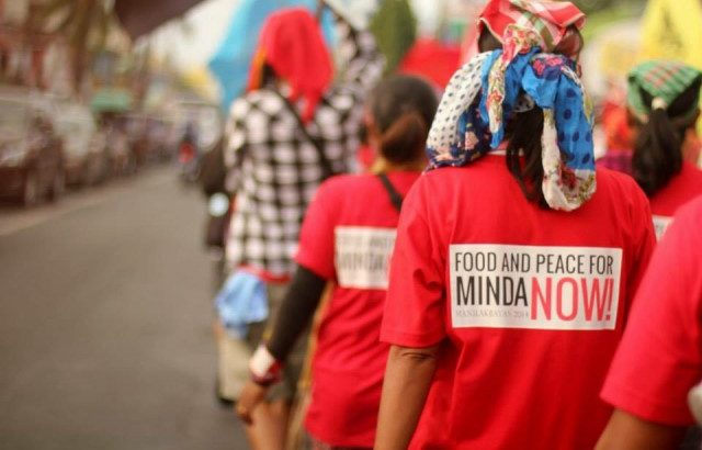 Manilakbayan | Peasants, urban poor, indigenous peoples from Mindanao arrive in Manila to call for social justice