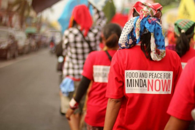 Lakbayanis march to Manila (Photo courtesy of Southern Tagalog Exposure)