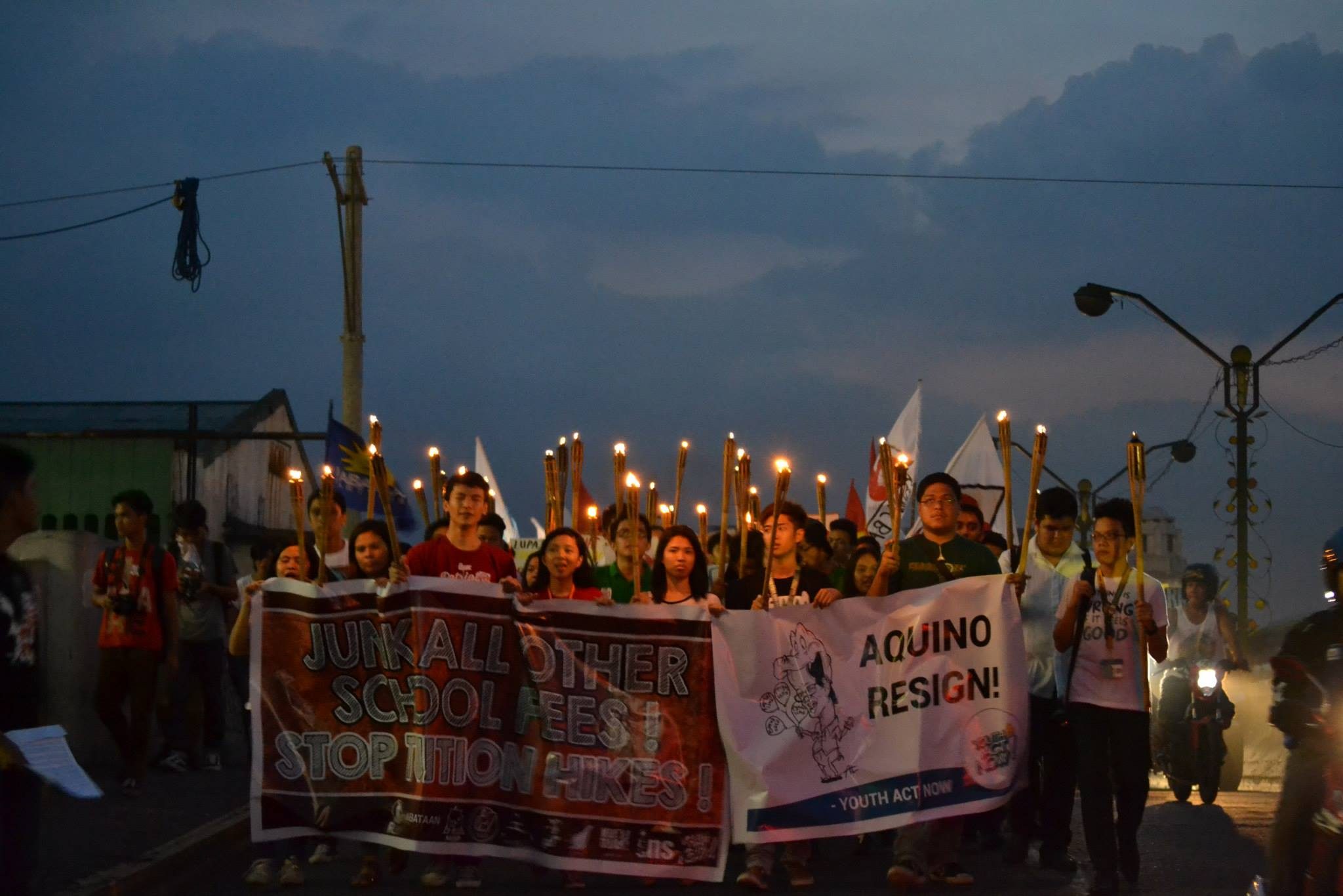 (Photo courtesy of National Union of Students in the Philippines/ Bulatlat.com)