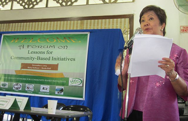 Address climate change, gov't urged