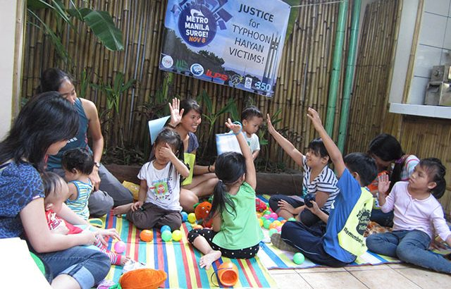 Manila residents express solidarity with Yolanda survivors