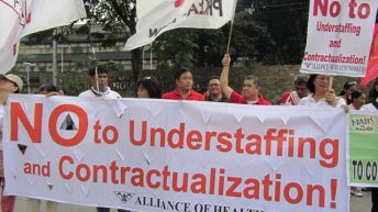 Health workers call tax exemption for temporary workers divisive