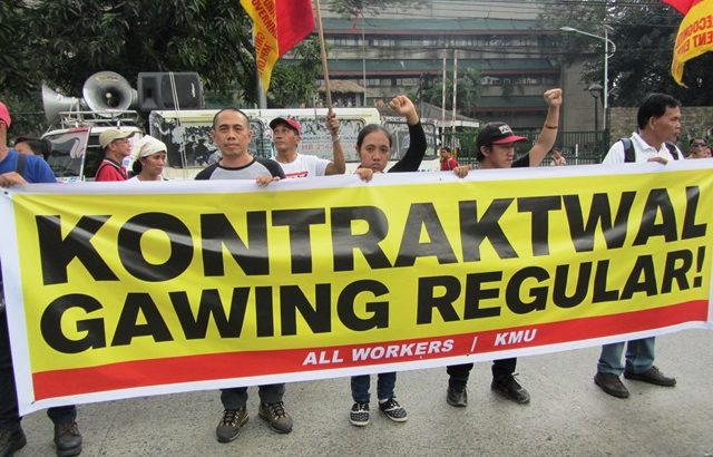 Govt reports 'better quality jobs,' labor campaigns vs 'contractualization'