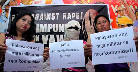 Women's groups chide  Duterte: 'Rape is no laughing matter'