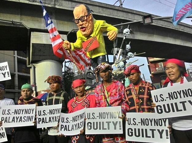 People's verdict on Aquino: Guilty (Photo by Anne Marxze D. Umil / Bulatlat.com)