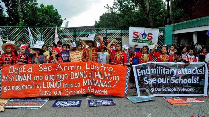 Senators keen to probe military attacks vs Lumad schools