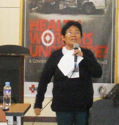 #Manilakbayan | 'I'm an educator and health worker, not an NPA'