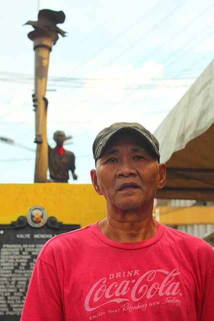 Martial law activist Wilfredo Baluyut says struggle for recognition and repartition of martial law victims continue. (Photo by Ronalyn V.  Olea/ Bulatlat.com)