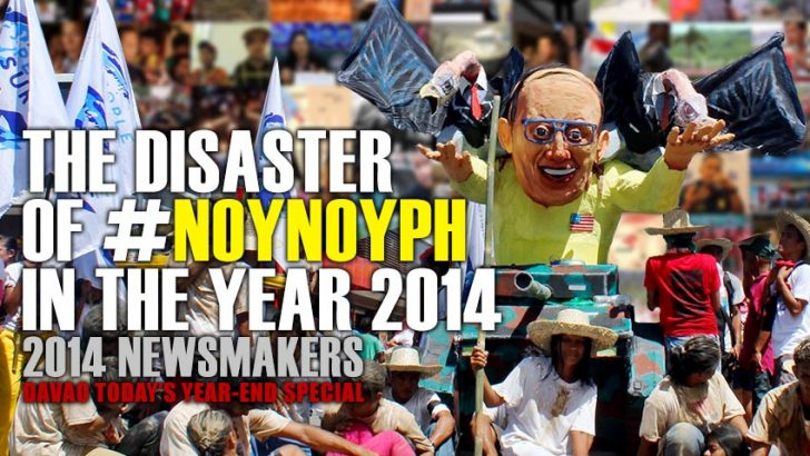 The disaster of #NoynoyPh in the year 2014