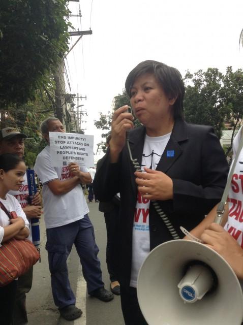 Cathy Salucon (Photo by J. Ellao / Bulatlat.com)
