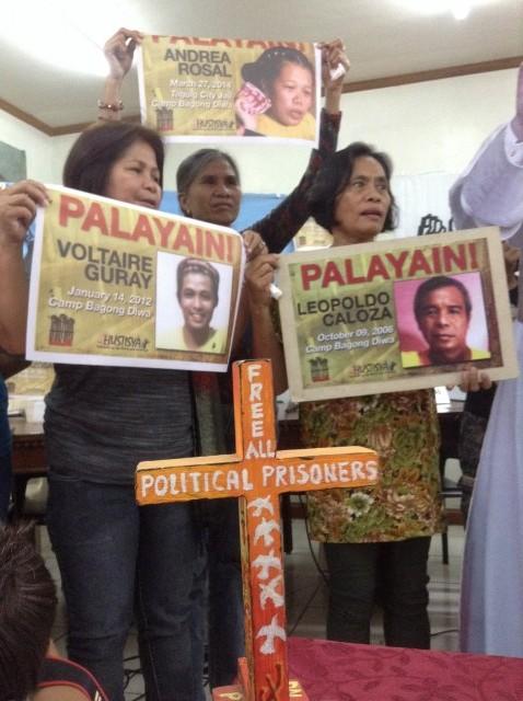 Relatives of political prisoners seek Pope Francis' help (By J. Ellao / Bulatlat.com)