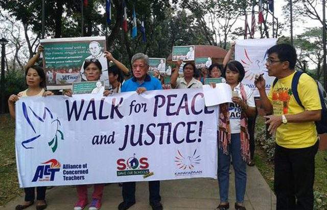 Peace advocates call on Pope Francis to broker GPH-NDFP talks
