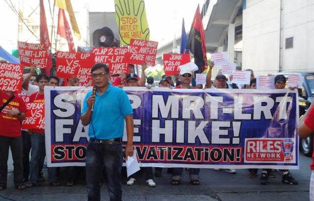 On SC decision for LRT, MRT fare hike | ' SC takes side of govt, capitalist cohorts'