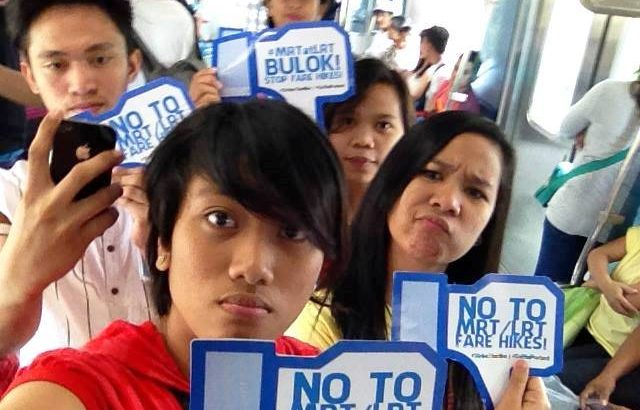 Commuters urged: Shoot & post your selfie vs MRT, LRT fare hike