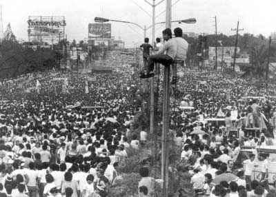 Where were you during the Edsa People Power in 1986?