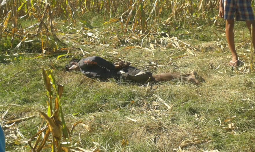 Mamasapano civilian: Badrudin Langalan, 18, was found hogtied and dead (Photo from Suara Bangsamoro)