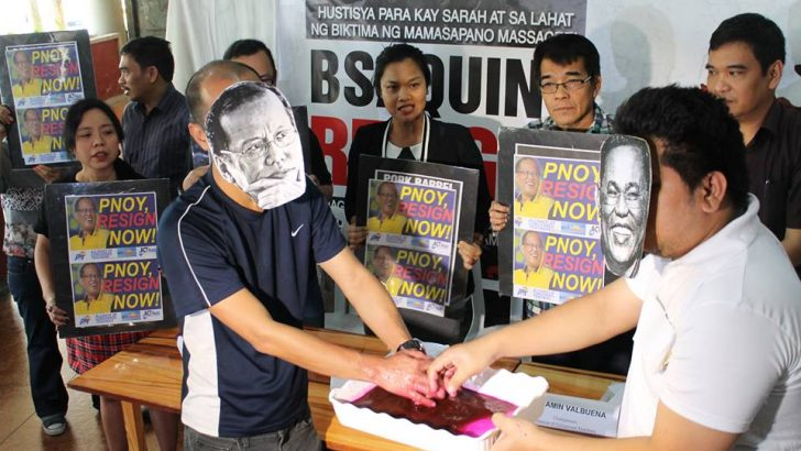 Teachers' groups want Aquino out, 'transitional council' in