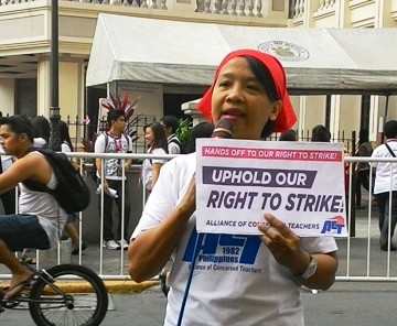 PH workers stand for the right to strike