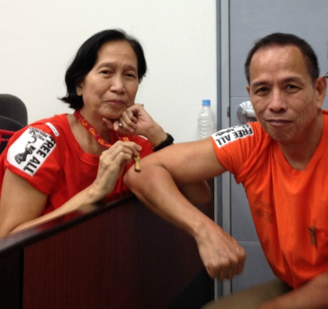 Tiamzon couple insists murder raps fabricated by military