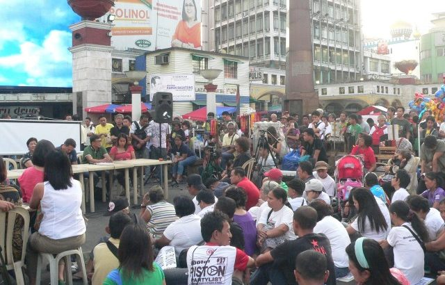 'How can Aquino & US be made accountable?' people ask at Quiapo 'hearing'