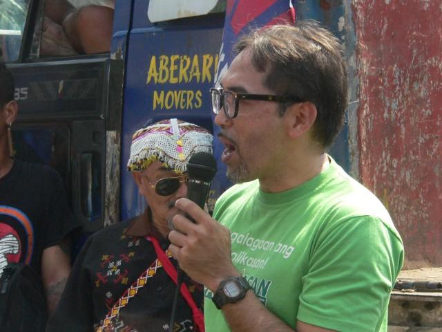 Clemente Bautista, Kalikasan PNE national coordinator (Photo by D. Ayroso)