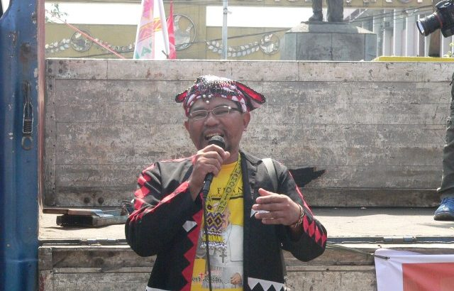 Lumad leader slapped with 'fabricated' charges
