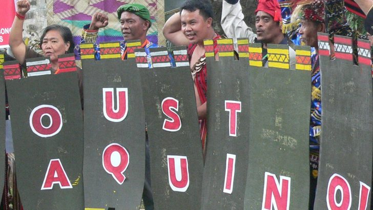 Indigenous peoples alliance renews call to oust Aquino