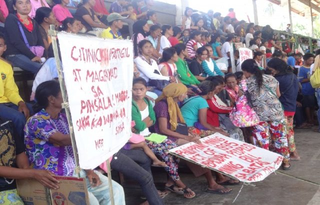 Palawan indigenous people call for stop to Citinickel mines