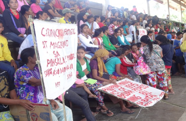 Palaw'ans want stop to Citinickel mining (Photo courtesy of Balatik)