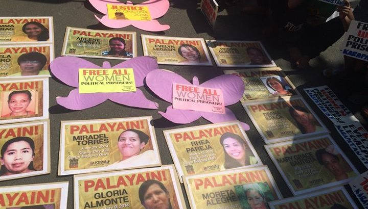 Aquino urged to free women political prisoners