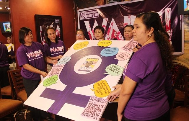 Women leaders call for Aquino's resignation, push for People's Transition Council
