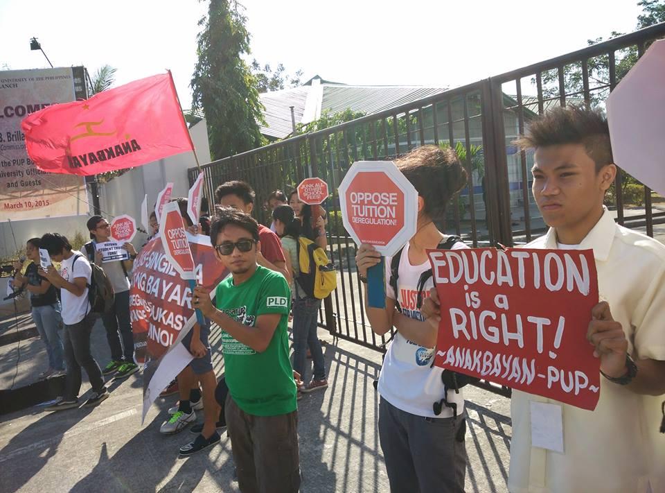 (Photo courtesy of Anakbayan)