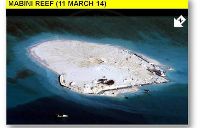 Green group hits China reclamation, Ph-US Balikatan in West Ph Sea