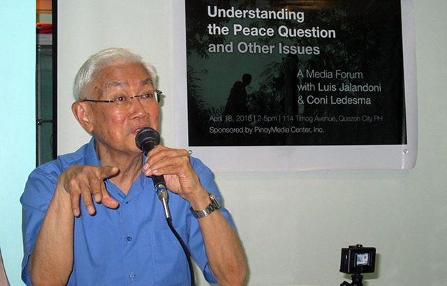 NDFP: Aquino is the biggest stumbling block to peace talks