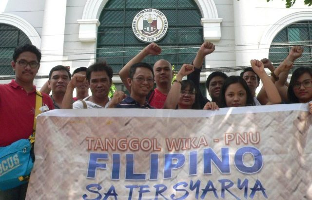 'Victory' | Filipino language defenders laud SC for TRO on Ched Memo Order 20