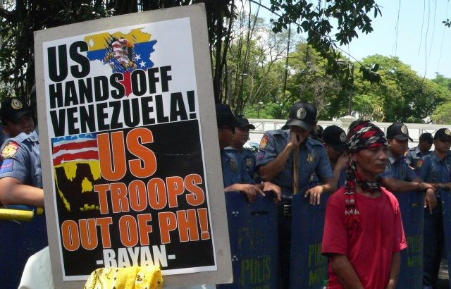 As Ph-US Balikatan starts, protesters hit Aquino for relying on US