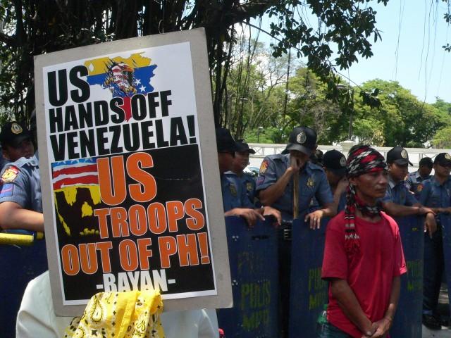 As Ph-US Balikatan starts, protesters hit Aquino for relying on US