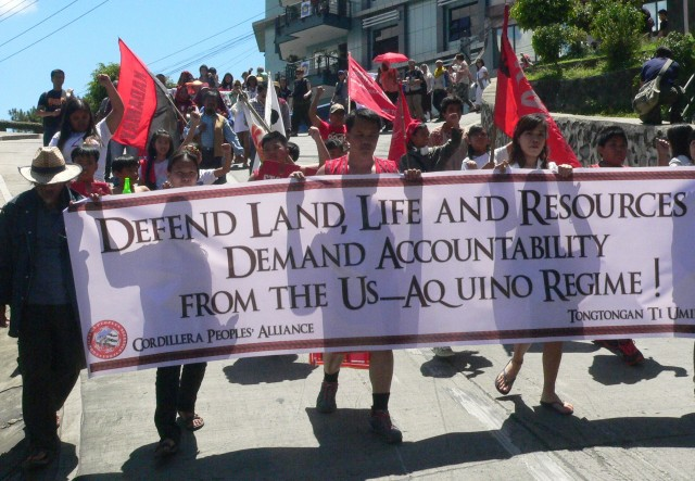 Northern folk marches in Manila to oppose Apec's 'disastrous' agreements