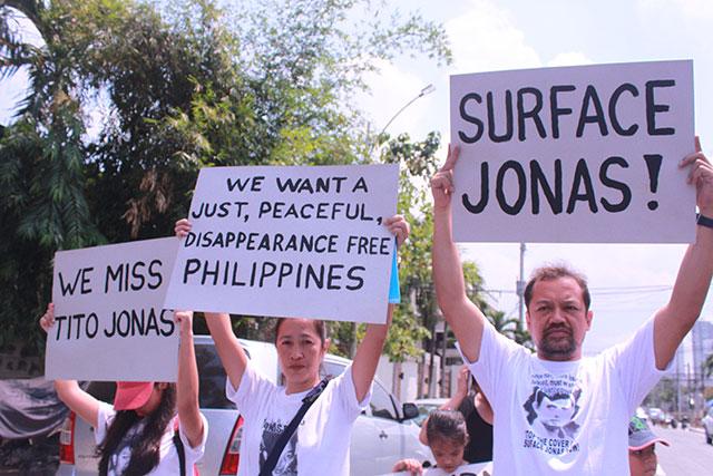 'Aquino failed on promise to surface Jonas Burgos'