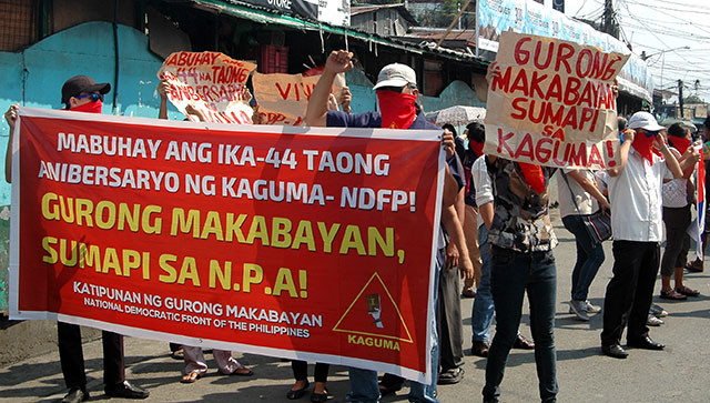 Revolutionary teachers call for Aquino's ouster