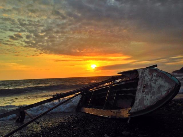 Blood-splattered Zamboanga City twilight