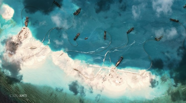 (Photo by the Asia Maritime Transparency Initiative and DigitalGlobe/from the website amti.csis.org)