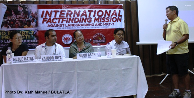 The international delegates share their observations and recommendations during the presentation of mission report on April 16.