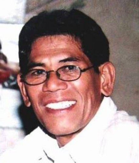 Elmer James Bandol decries the libel case against him as 'pure harassment.' (photo courtesy of BicolToday.com)