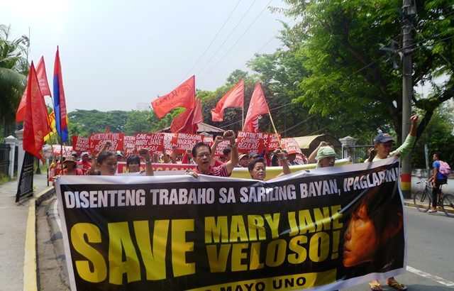 Workers, youth groups rally to save Mary Jane, demand reforms