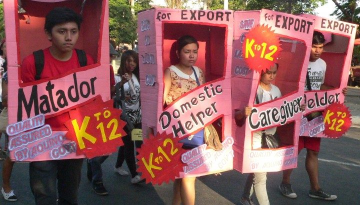 Parents urged to join call to stop K to 12 program