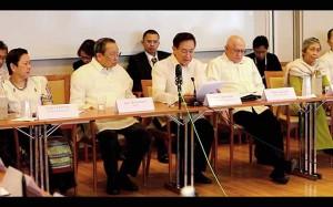 NDFP panel members (Photo by Martha Marietta Atienza)
